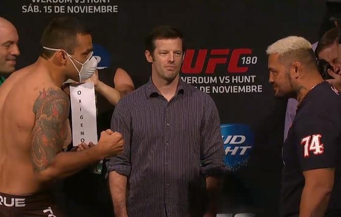 Primeiro momento da 'tiração de onda'. Foto: UFC/Divulgação