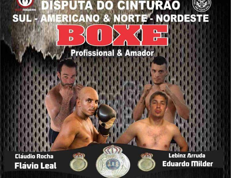Disputa de boxe está marcada para o dia 29 de novembro. Foto: Divulgação