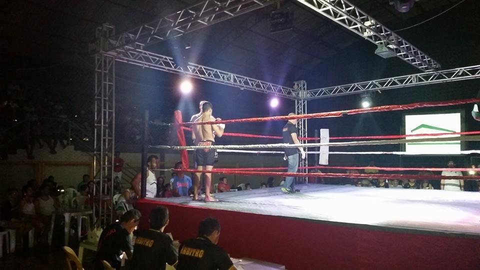 Evento contou 10 lutas no ginásio Deromi Melo. Foto: Arquivo Pessoal