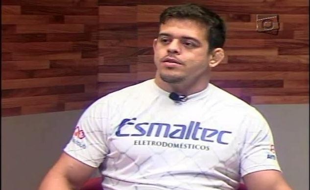 Caio falou ainda sobre a sua adaptação no UFC. Foto: Reprodução TV