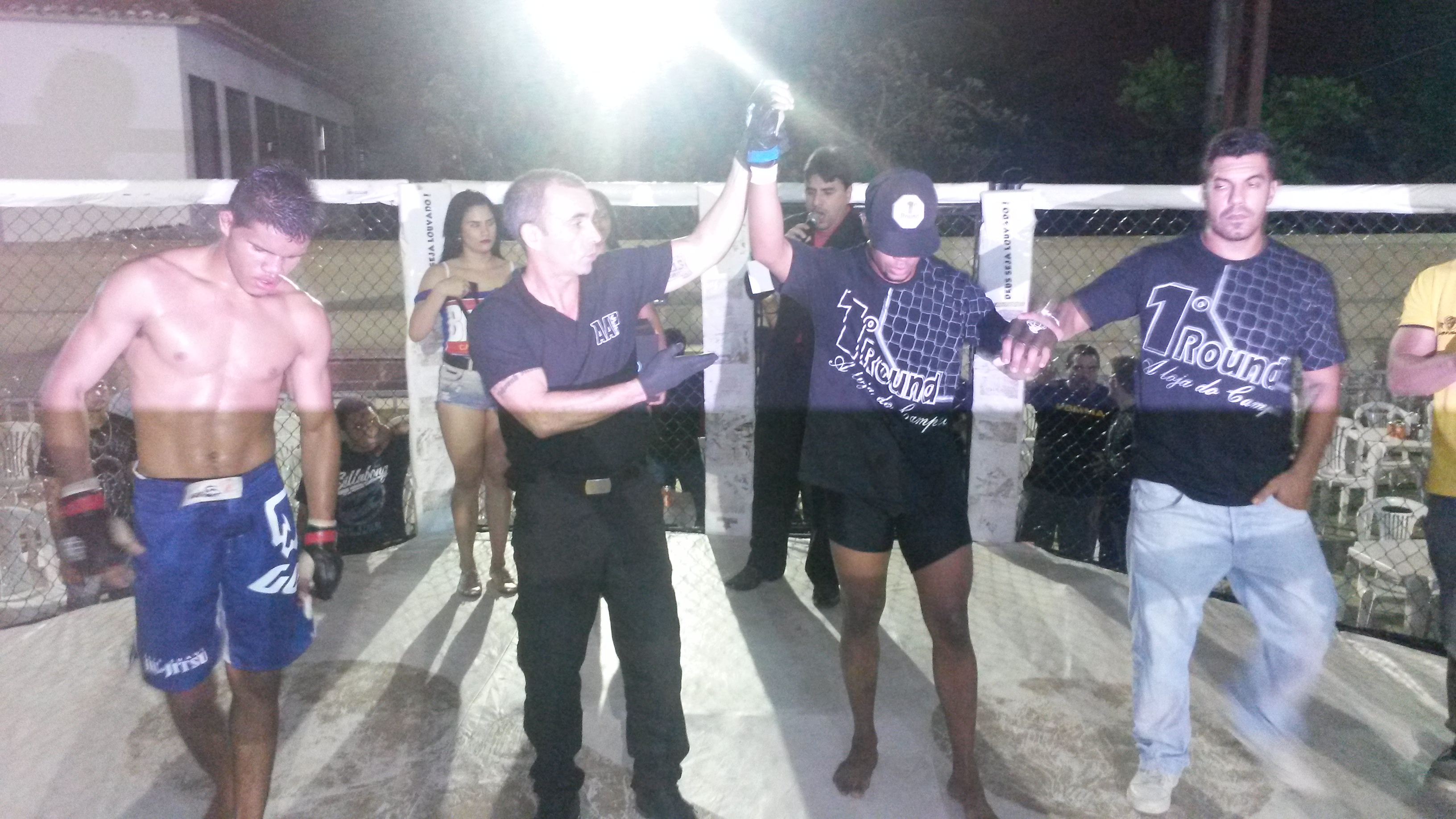 Jefferson venceu por nocaute no 3° round. Foto: Bruno Balacó/O POVO