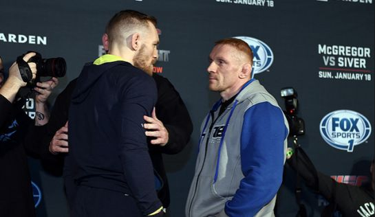 Conor McGregor e Dennis Siver são as atrações principal do card do UFC em Boston | Foto: UFC