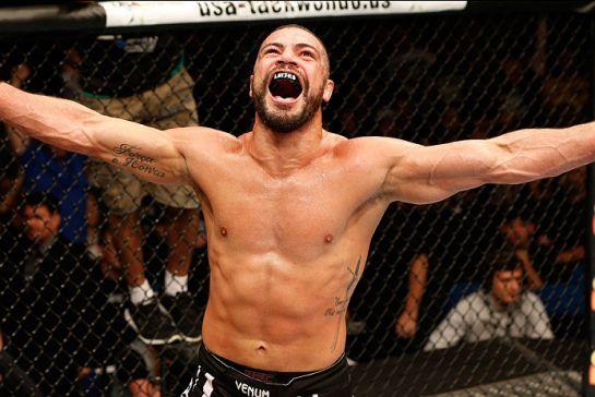 Thales enfrenta Tim Boestch no card principal do UFC 183 | Foto: UFC/Divulgação