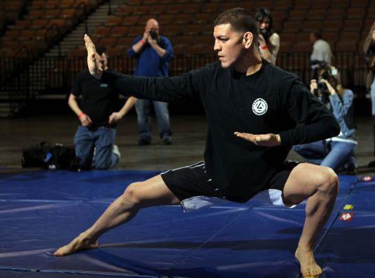 Nick Diaz é o adversário de Anderson Silva no UFC 183 | Foto: UFC/Divulgação