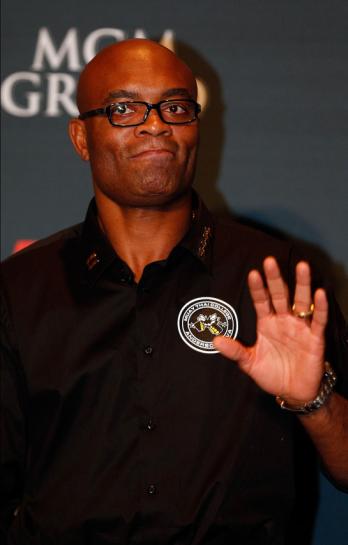 Anderson Silva foi pego em exame antidoping | Foto: UFC/Divulgação
