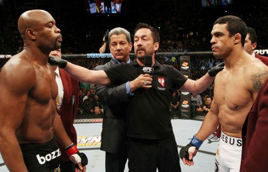 Anderson nocauteou Belfort no primeiro round do UFC 126 | Foto: UFC/Divulgação
