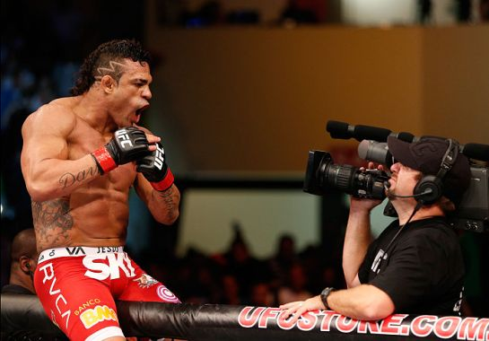 Belfort sonha em conquistar o cinturão dos pesos-médios. Foto: UFC/Divulgação