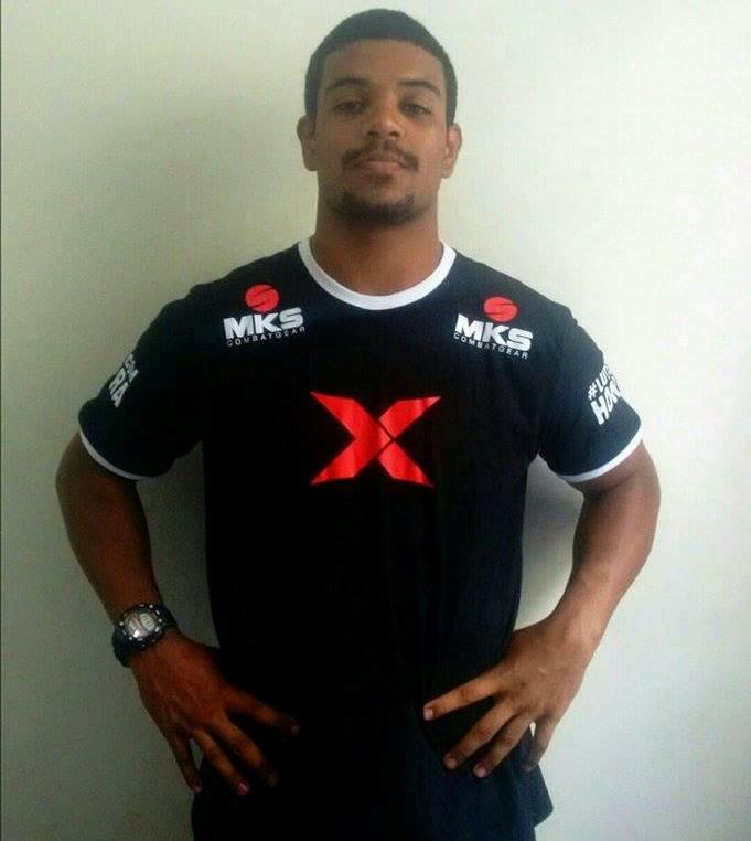 Jefferson é o segundo atleta cearense a fechar contrato com o XFCi. Foto:  Arquivo Pessoal
