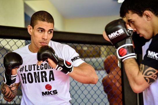 Lucas Mineiro tem três vitórias no UFC | Foto: Gaspar Nóbrega/Inovafoto