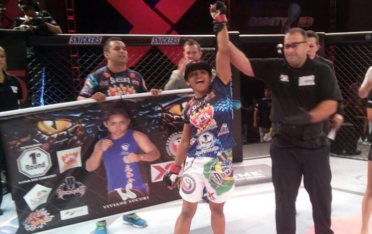 Sucuri acumula 8 vitórias em 8 lutas. Foto: XFC/Divulgação