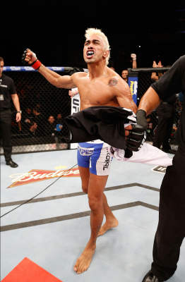 Pepey faz sétima luta no UFC   Foto: Divulgação/UFC