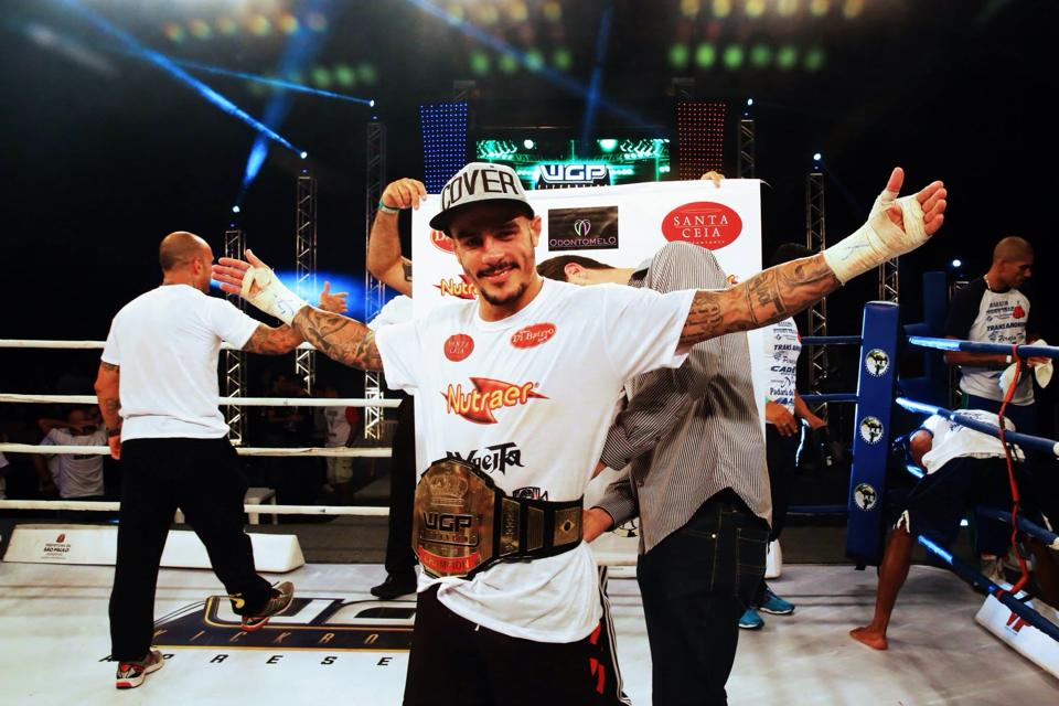 Emerson Falcão conquistou o cinturão do WGP em novembro do ano passado. Foto: WGP/Divulgação
