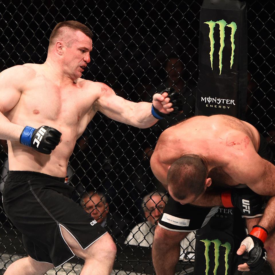 Cro Cop chegou à vitória no 3º round. Foto: UFC/Divulgação