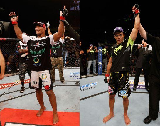 Jacaré e Machida são os protagonistas do UFC em New Jersey | Foto: UFC/Divulgação
