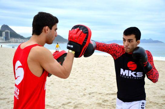 Thomas Almeida faz seu segundo duelo no UFC contra o canandense Yves Jabouin   Foto: Felipe Fiorito