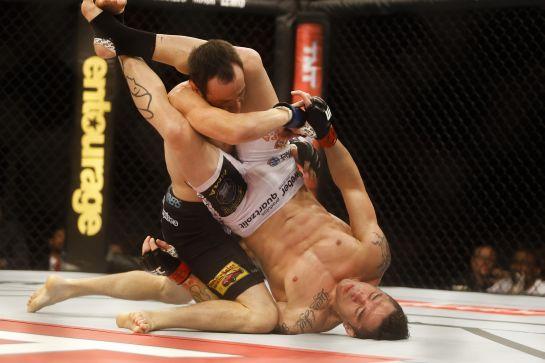Pela finalização em sua última luta, Jason recebeu o bônus de Desempenho da Noite   Foto: William Lucas/inovafoto