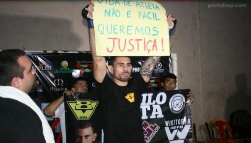 Danilo Mota não venceu, mas deu o seu recado. Foto: Portal Zap