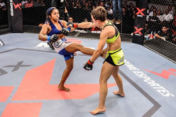 Sucuri já fez duas lutas na organização e se deu bem em ambas. Foto: XFCi/Divulgação