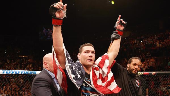 Weidman mantém o cartel intocável de 13-0. Foto: UFC on Fox