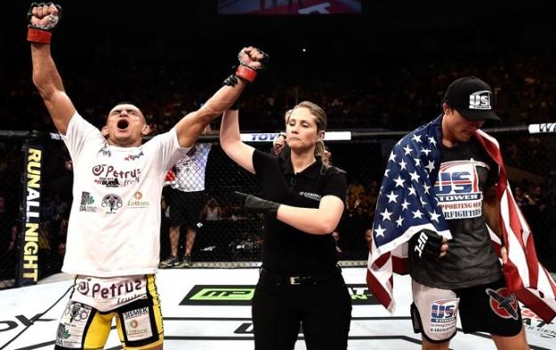 Camila já atuou em dois eventos do UFC no Brasil. Foto: Divulgação
