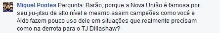 Pergunta do internauta Miguel Pontes