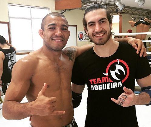 Aldo e Bilharinho na Nova União | Foto: reprodução
