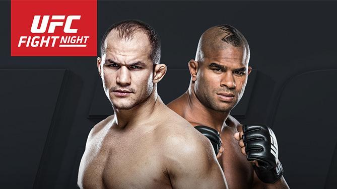 Arte que anunciou o combate. Foto: UFC/Divulgação