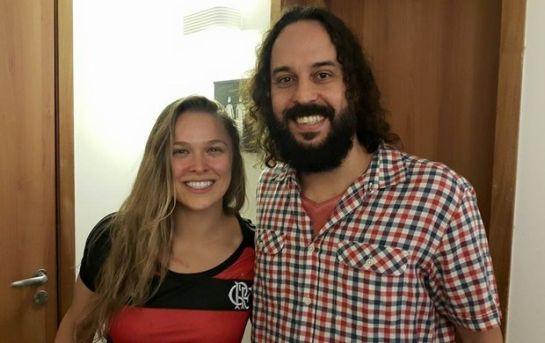 Gabriel Pensador tieta Ronda Rousey | Foto: reprodução