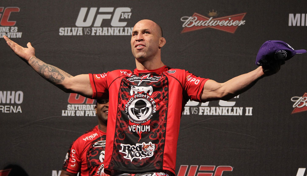 Wand volta ao Ceará após dois anos. Foto: UFC/Divulgação