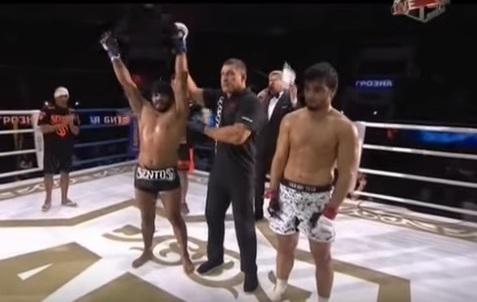 Hermes foi um dos cearenses que venceu luta na Rússia este ano. Foto: Reprodução Internet