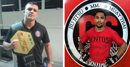 Naja (esquerda) é o atual campeão. Gárgula conquistou a condição de desafiante. Montagem: blog Clube da Luta