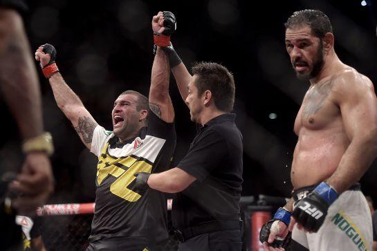 Shogun venceu Minotouro no UFC 190   Foto: Alexandre Loureiro/inovafoto