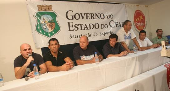 Minotauro ajudou a divulgar o Jungle Fight em Fortaleza, em 2009. Foto: Arquivo O POVO