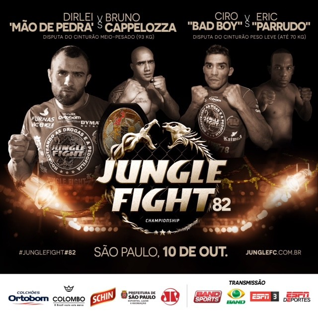 Pôster oficial do evento. Foto: Divulgação