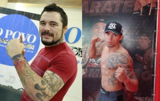 Rony e Chiquerim foram cotados para um duelo de boxe | Foto: montagem/Fco Fontenele/O Povo/Divulgação
