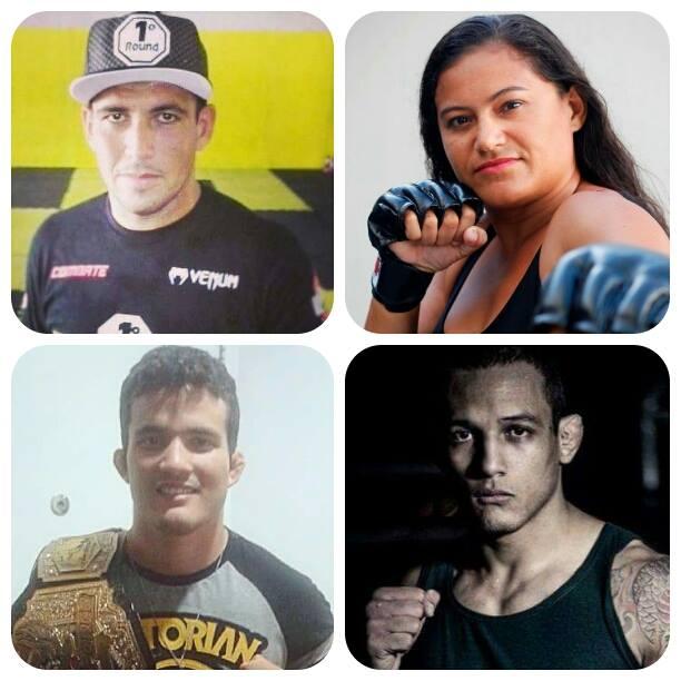 Na lista, Sandro, Rosy, Alisson e João Paulo. Fotos: Arquivo Pessoal e O POVO