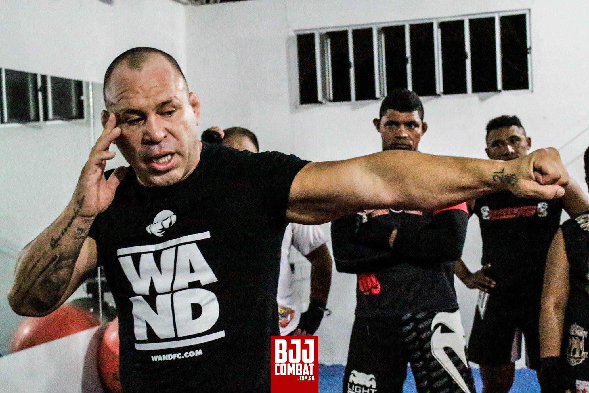 Wand veio ao Ceará ministrar dois seminários. Foto: BJJ Combat