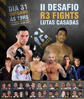 Cartaz do desafio R3 de Jiu-Jitsu