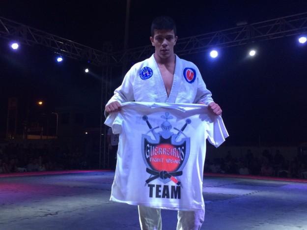 Revelação da competição, Pedro Armando precisou de apenas 45 segundos para finalizar seu adversário