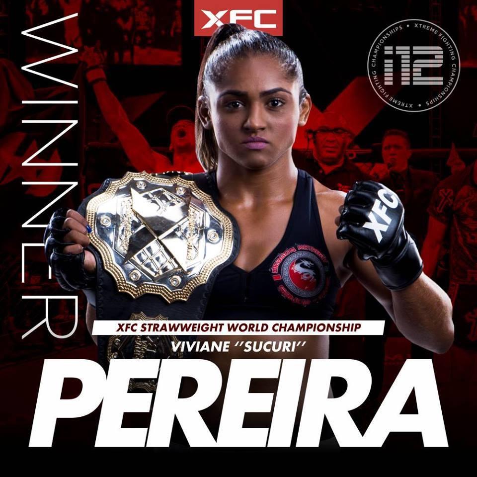 Sucuri segue invicta no MMA, com 10 lutas e 10 vitórias. Foto: Divulgação