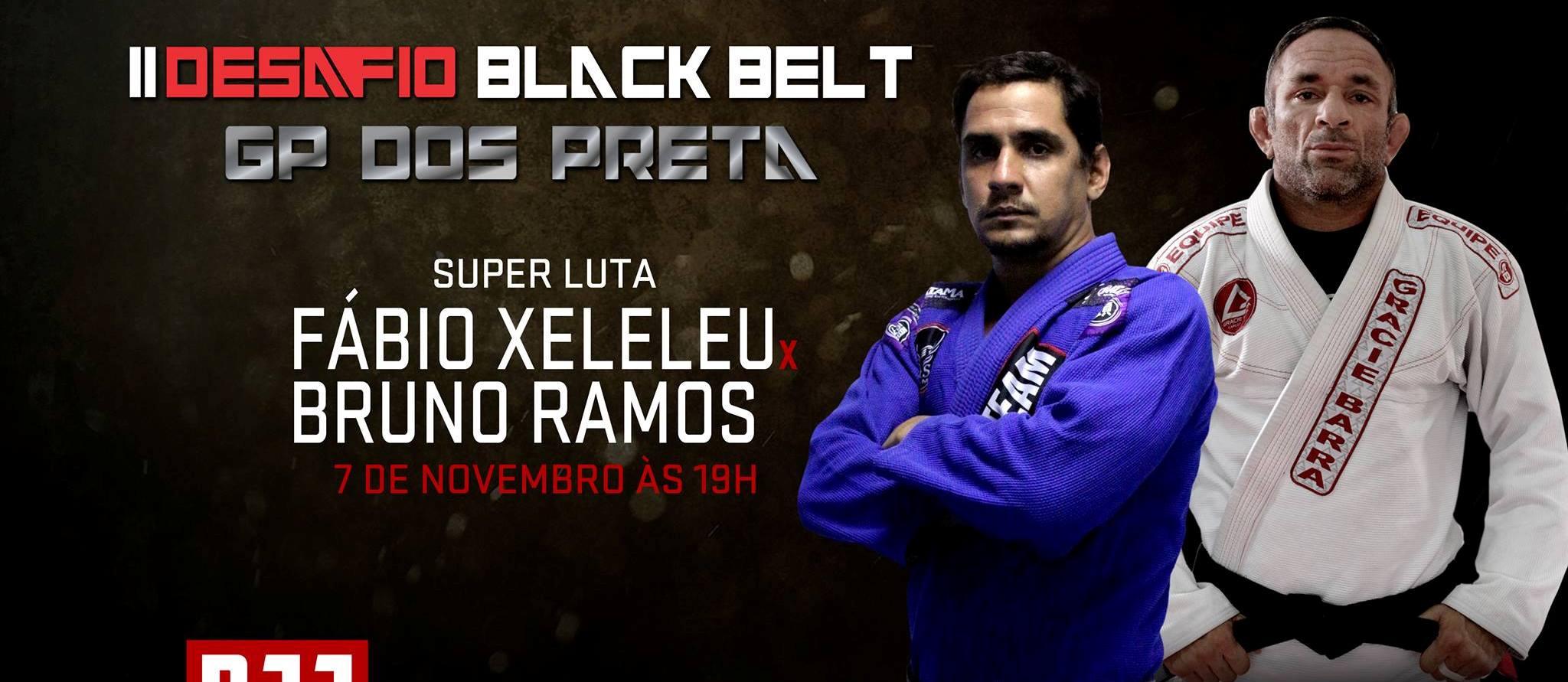 Cartaz da luta principal de jiu-jitsu. Foto: Divulgação