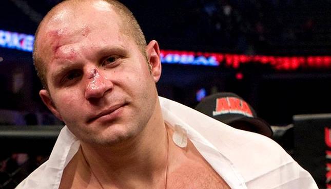 Fedor, o Último Imperador, voltou ao MMA em grande estilo. Foto: MMAjunkie