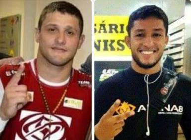Andrezinho (e) e Arlen farão a luta principal do Action Fight. Foto: Arquivo Pessoal