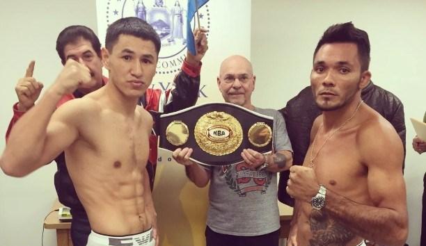 Boxeador Joaquim Carneiro disputa cinturão em luta nos Estados Unidos. Foto: Divulgação