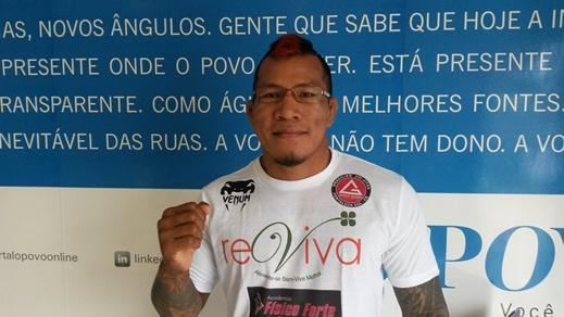 Cristovão Índio deixa o MMA após 12 lutas profissionais. Foto: Bruno Balacó/O POVO