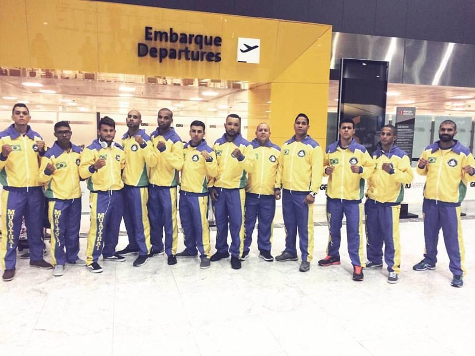 Delegação que representa o Brasil no torneio. Foto: Divulgação