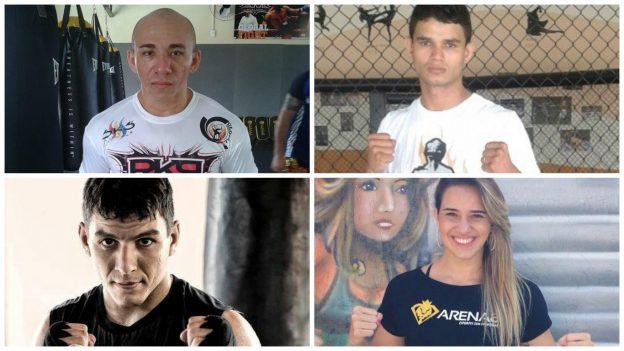 Koreano, Sagat, JV e Marília Fanta estão entre as atrações do evento. Fotos: Arquivo Pessoal/Divulgação