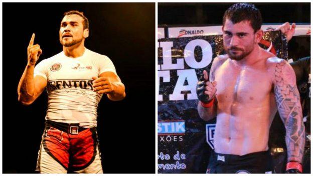 Touro (esquerda) e Danilo farão luta de submission. Foto: Arquivo Pessoal/Divulgação