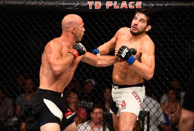 Cerrone liquidiou a fatura no 3º round. Foto: UFC/Divulgação