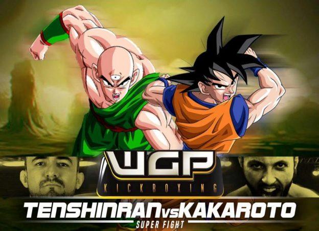 Cartaz de divulgação do duelo histórico no WGP. Foto: Divulgação